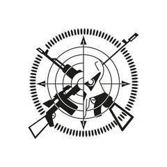war logo skull