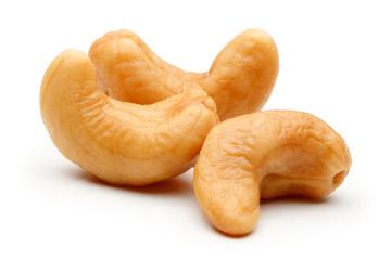 Cashew nut isolated