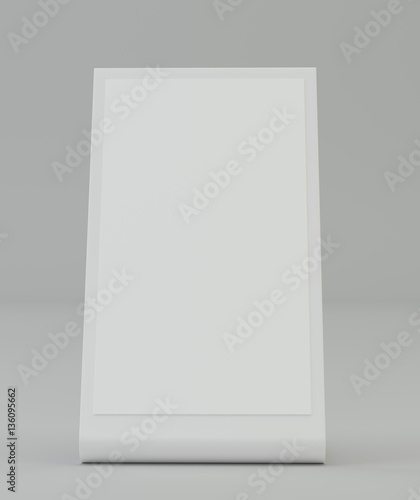 brochure holder template - plastic holder brochure holding empty paper template