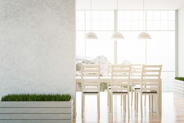 Light dining room