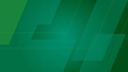 random green angles Wall mural