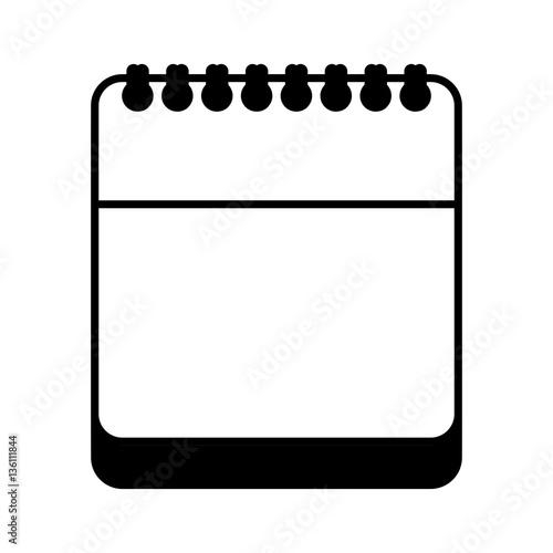 Calendar Reminder Design : Quot calendar reminder with magnifying glass vector