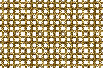 Wide continuous metal lattice pattern
