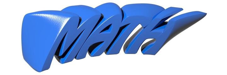 MATH blue