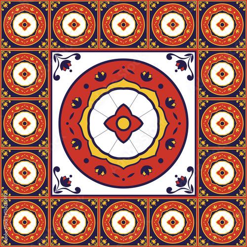 spanish talavera ceramic vector-#21