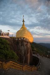 The Golden Rock, Kyaiktiyo, Myanmar