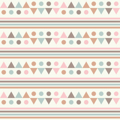 Seamless vector background with abstract geometric pattern. Print. Repeating background. Cloth design, wallpaper.