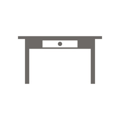 Icon Table. Vector illustration.