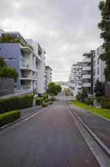 Apartment buildings, Rhodes, Sydney, Australia