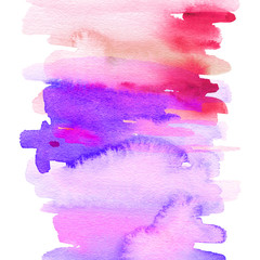 Abstract background for a card. Watercolor painting