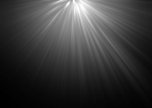 abstract beautiful rays of light on black background.