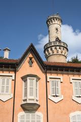Varese (Italy):  Villa Mirabello in the Giardini Estensi