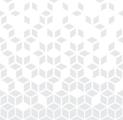 Abstract geometric black and white graphic minimal halftone pattern