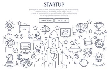 Startup Web Design Concept