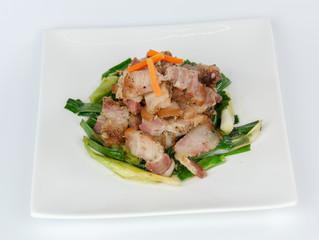 Salty pork