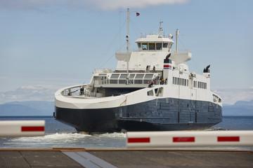 Norwegian cruise travel. Fjord landscape. Visit Norway. Tourism