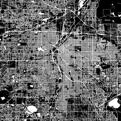 Denver Vector Map