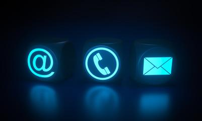 Contact symbols