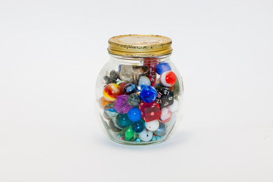 marbles, dice and more