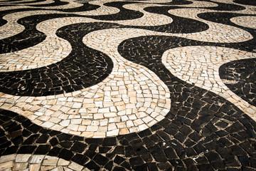 Famous Copacabana Sidewalk Mosaic