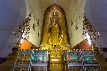 Giant Buddha statue in Myanmar