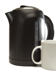 electric kettle and a mug