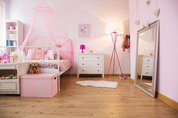 Little princess apartment with bed