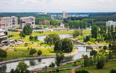 Belarus, Minsk, a top view