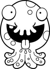 Hungry Cartoon Monster