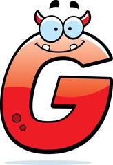 Letter G Monster