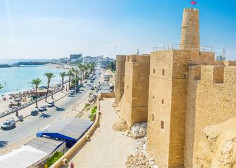 Poster de jardin Tunisie The old walls