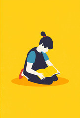 Reading Girl II