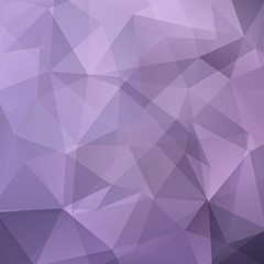 Background made of purple, violet triangles. Square composition with geometric shapes. Eps 10
