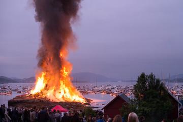 Obraz największe ognisko świata - fototapety do salonu