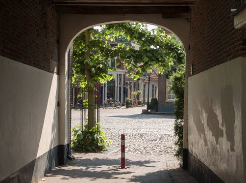 Historic city of Harderwijk, Gelderland, Holland, NLD