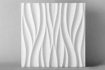 3d pannel,  gypsum relief