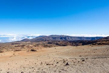 Gebirgslandschaft auf Teneriffa