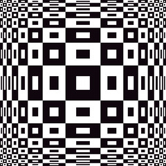 Op Art Design in Black and White