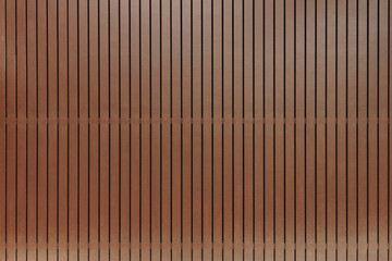 Natural wood planks fence close up background