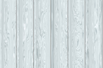 Continuous batten white wooden pattern