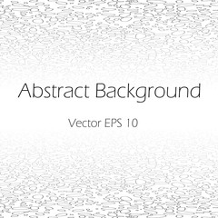 Abstract white vector perspective background