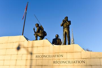 Reconciliation: The Peacekeeping Monument - Ottawa, Canada