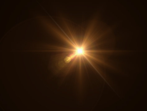 lighting warm flare