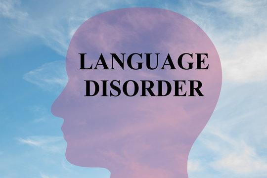 Language Disorder concept