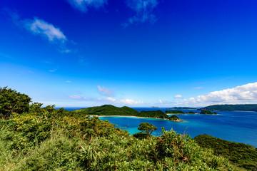 沖縄県 慶良間諸島 座間味島 高月山展望台