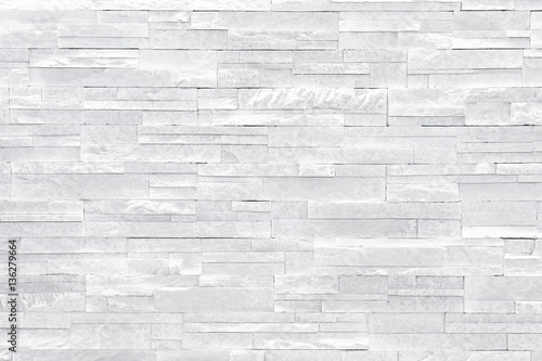 White Stone Wall Background Stacked Tiles Are Often Used In Interior Design Decors As