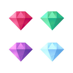 Vector gemstones