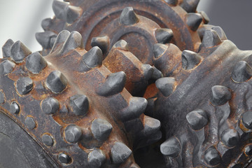 Bit head gas petroleum drill machine tool. Exploration equipment