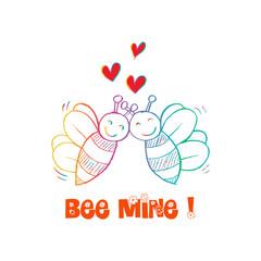 Bee Mine Valentine
