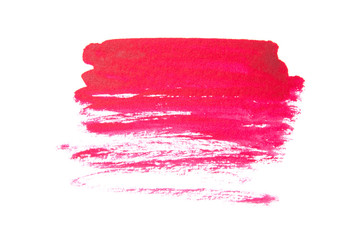 Pink abstract background in watercolor style